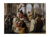 Prince Vladimir Chooses a Religion in 988, 1822 Giclee Print by Johann Leberecht Eggink