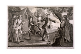 The Humorous Diversion of the Country Play at Blindmans Buff, Vauxhall Gardens, London, C1745 Giclee Print by Francis Hayman