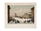 The Assembly of the Nobility House in Moscow, 1840S Giclee Print by Paul Marie Roussel