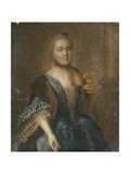 Portrait of Countess Elizabeth Vorontsova (1739-179), 1762 Giclee Print by Alexei Petrovich Antropov