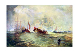 The Landing of William of Orange at Torbay, 1688, C1920 Giclee Print by Joseph Mallord William Turner