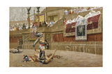 Gladiators in the Roman Arena Giclee Print by Jean-Leon Gerome