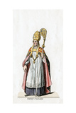 Bishop of Rochester, Costume Design for Shakespeare's Play, Henry VIII, 19th Century Giclee Print
