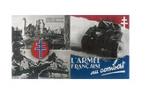 World War 2: Free French Propaganda Poster C1942-1944 Giclee Print