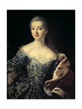 Portrait of Countess Ekaterina Lobanov-Rostovsky, 1754 Giclee Print by Ivan Petrovich Argunov