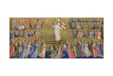 Christ Glorified in the Court of Heaven (Panel from Fiesole San Domenico Altarpiec), C. 1423-1424 Giclee Print by  Fra Angelico