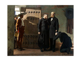 Emperor Maximilian of Mexico before the Execution, 1882 Giclee Print by Jean-Paul Laurens