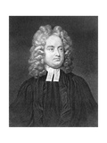 Jonathan Swift, Anglo-Irish Satirist, Poet and Cleric Giclee Print by Charles Jervas