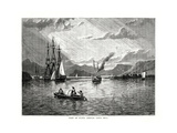 View of Punta Arenas, Costa Rica, 1877 Giclee Print