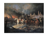 Napoleon Bonaparte in Moscow, 1840 Giclee Print by Albrecht Adam