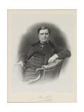 Portrait of Alexandre Florian Joseph, Count Colonna-Walewski (1810-186) Giclee Print by Auguste Lemoine