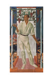 Portrait of the Mexican Artist Roberto Montenegro Nervo (1887-196), 1915 Giclee Print by Alexander Yevgenyevich Yakovlev