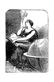 Hypatia (C370-41), Mathematician and Neo-Platonic Philosopher, Mid 19th Century Giclee Print