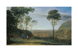 Christ Appearing to St. Mary Magdalene (Noli Me Tanger) Giclee Print by Claude Lorrain