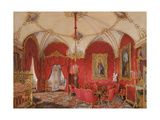 Interiors of the Winter Palace, the Fourth Reserved Apartment, the Corner Room, 1868 Giclee Print by Eduard Hau
