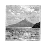 Mombacho Volcano and the Shores of Lake Nicaragua, C1890 Giclee Print