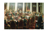 The Ceremonial Session of the State Council of Imperial Russia on May 7, 1901, 1903 Giclee Print by Ivan Semyonovich Kulikov