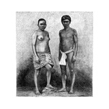 Young Talamancas Indians, Central America, C1890 Giclee Print