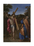 Christ Appearing to Saint Peter on the Appian Way (Domine, Quo Vadis), Ca 1602 Giclee Print by Annibale Carracci