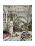 Interiors of the Winter Palace, the Winter Garden of Empress Alexandra Fyodorovna, 1860S Giclee Print by Konstantin Andreyevich Ukhtomsky
