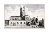 St Mary Overie's Church, Southwark, London, 1647 Giclee Print by Wenceslaus Hollar