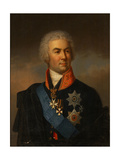 Portrait of Count Pyotr Zavadovsky, 1849 Giclee Print by Carl Schulz