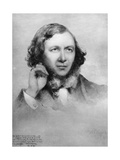 Robert Browning, British Poet, 1859 Giclee Print by Field Talfourd