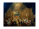 Meeting of the Masonic Lodge, Vienna, 18th Century Giclee Print