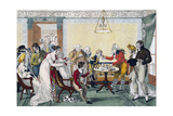 Card Game, First Quarter of 19th Century Giclee Print by Francois Joseph Bosio