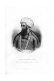 Dost Mahommed Khan, Ruler of Afghanistan, 19th Century Giclee Print
