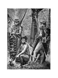 A Group of Dyaks, C1900 Giclee Print