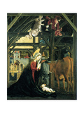 Nativity (Altarpiece of the Church of St. Wolfgang Im Salzkammergu), 1481 Giclee Print by Michael Pacher