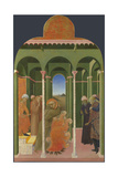 Saint Francis before the Sultan, 1437-1444 Giclee Print by  Sassetta