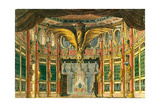 Stage Design for the Opera the Bronze Horse by D. Auber, 1837 Giclee Print by Andreas Leonhard Roller