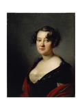 Portrait of Princess Yelena Mikhaylovna Galitzine (1776-185), 1815 Giclee Print by Orest Adamovich Kiprensky