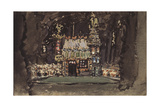 Stage Design for the Opera Hansel Und Gretel by E. Humperdinck, 1895 Giclee Print by Mikhail Alexandrovich Vrubel