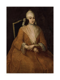 Portrait of Anna Leopoldovna, Regent of Russia (1718-174), Between 1740 and 1746 Giclee Print by Ivan Yakovlevich Vishnyakov