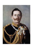 Wilhelm II, Emperor of Germany and King of Prussia, Late 19th-Early 20th Century Giclee Print by  Reichard & Lindner