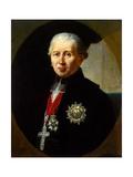Portrait of Karl Theodor Von Dalberg, (1744-181), 1811 Giclee Print by Robert Lefevre