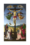 The Crucified Christ with the Virgin Mary, Saints and Angels (The Mond Crucifixio), 1502-1503 Giclee Print by  Raphael