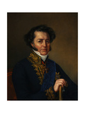Portrait of Avraam Norov (1795-186), 1857 Giclee Print by Jan Ksawery Kaniewski