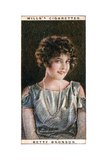 Betty Bronson (1906-197), American Film Star, 1928 Giclee Print by  WD & HO Wills