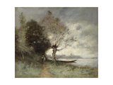 Bank of the Loire Near Chouze, 1893 Giclee Print by Paul Desire Trouillebert