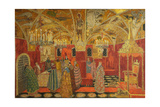 Stage Design for the Opera Boris Godunov by M. Musorgsky, 1911 Giclee Print by Alexander Yakovlevich Golovin