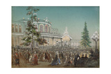 Celebration of the 25th Anniversary of Tsarskoe Selo Railroad, 1862 Giclee Print by Adolf Charlemagne