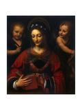 Saint Catherine, 1527-1531 Giclee Print by Bernardino Luini
