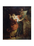Oath to Love, Middle of the 18th Century Giclee Print by Jean Honoré Fragonard