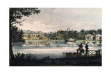Cameron Gallery at the Catherine Palace in Tsarskoye Selo, Ca 1820 Giclee Print by Valerian Platonovich Langer