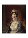 Portrait of Maria Letizia Ramolino Bonaparte, Mother of Napoleon Bonaparte, Ca 1804 Giclee Print by François Pascal Simon Gérard