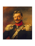 Portrait of General Count Peter Petrovich Von Der Pahlen, before 1825 Giclee Print by George Dawe